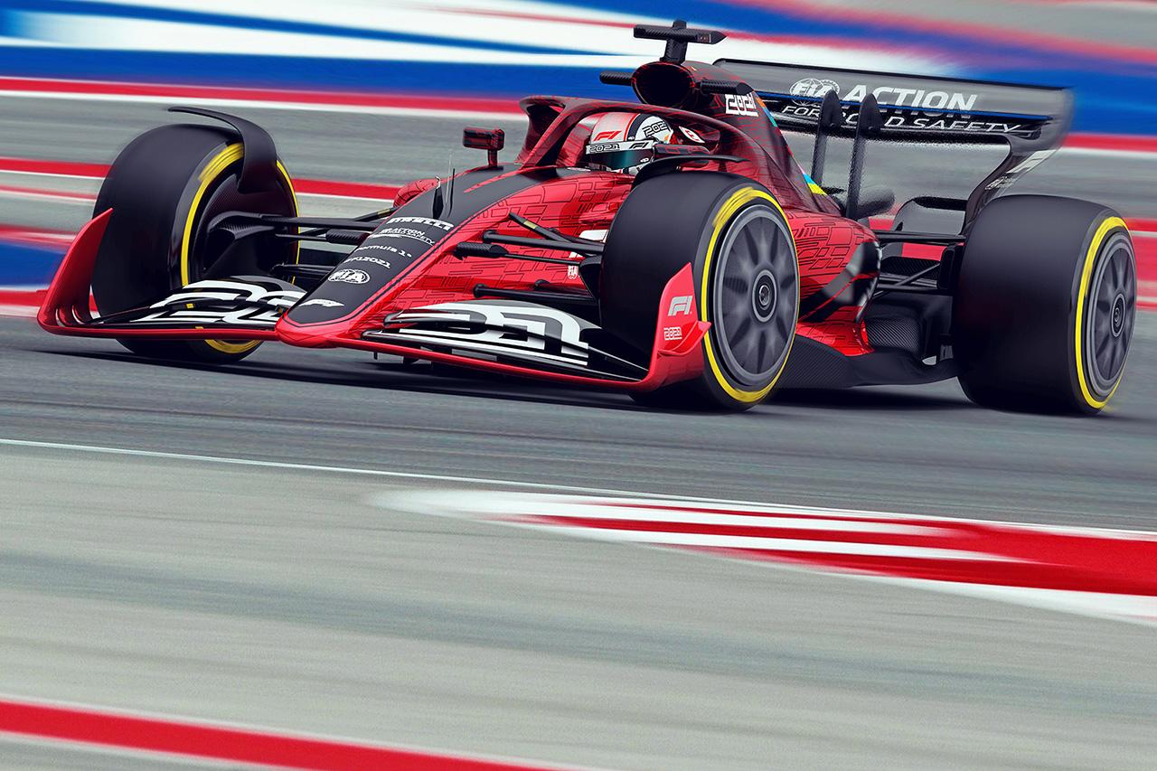 2021年 F1レギュレーション解説 (1)F1マシンのルックスの変化