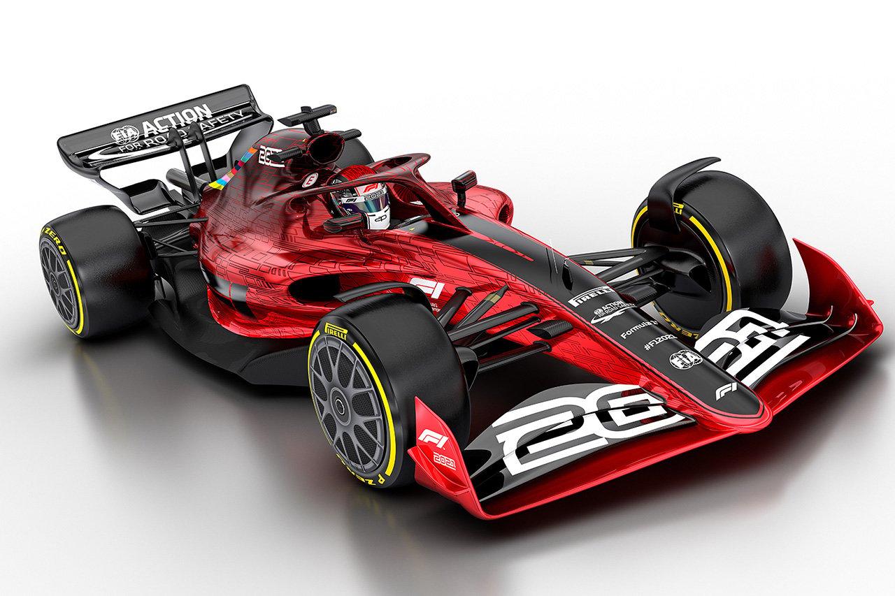 2021年F1マシン
