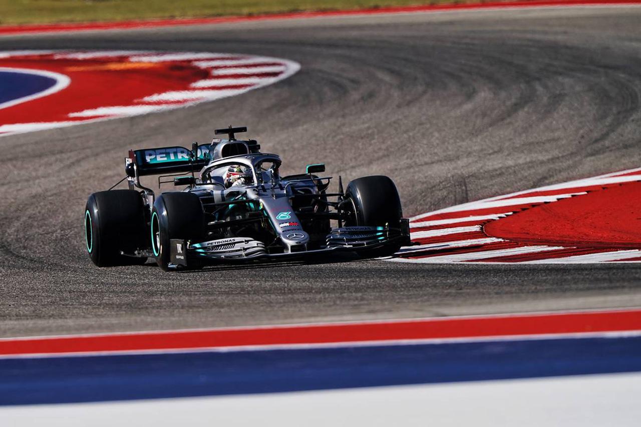 F1アメリカGP 金曜フリー走行