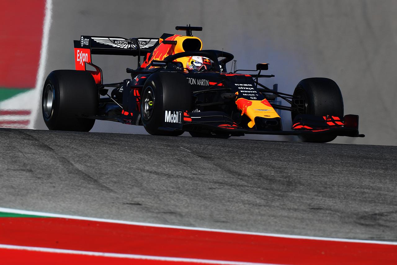 F1アメリカGP フリー走行1回目