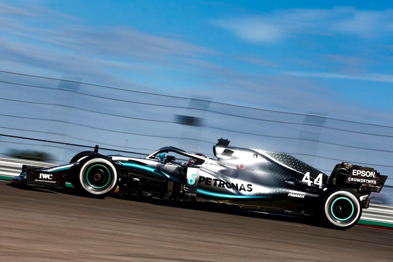 F1アメリカGP フリー走行2回目
