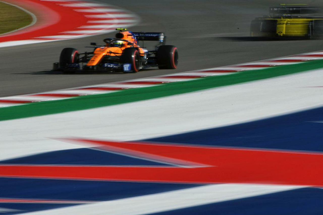 F1アメリカGP 予選Q1 結果