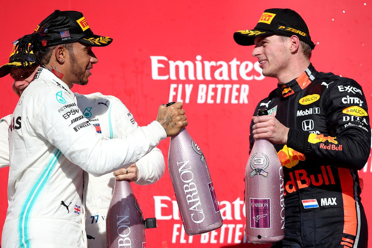 マックス・フェルスタッペン 「ライバルとの争いに戻ることができたと思う」 / レッドブル・ホンダ F1アメリカGP 決勝