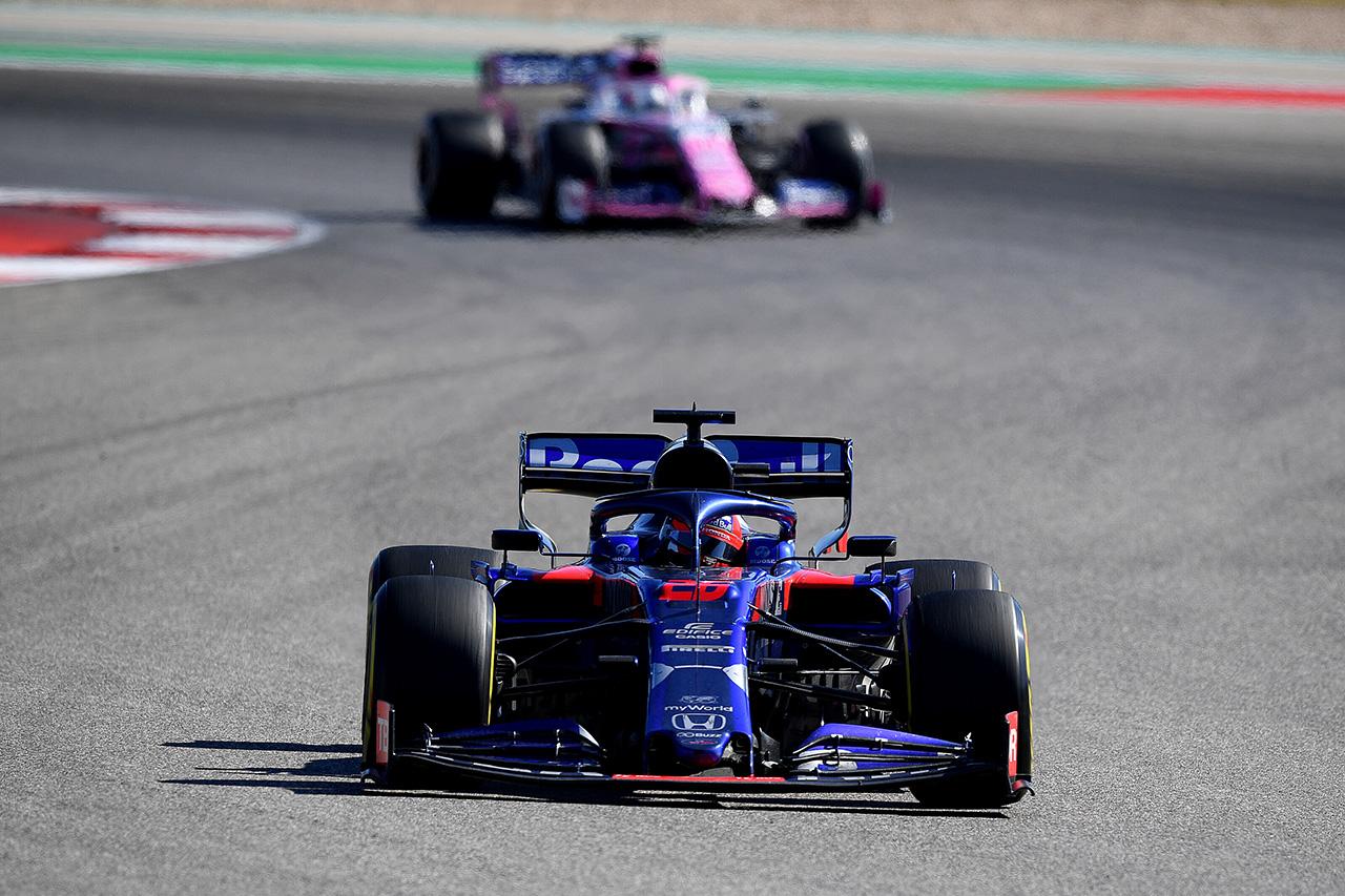 トロロッソ・ホンダ 「今週末のパフォーマンスを考えれば期待外れな結果」 / F1アメリカGP 決勝