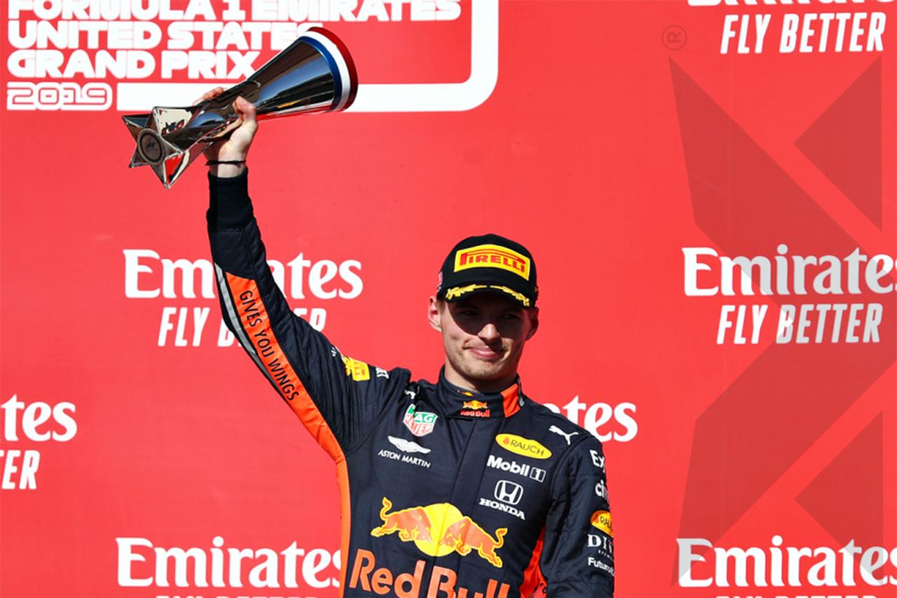 マックス・フェルスタッペン 「黄旗がなければ2位で終えられたかも」 / レッドブル・ホンダ F1アメリカGP 決勝
