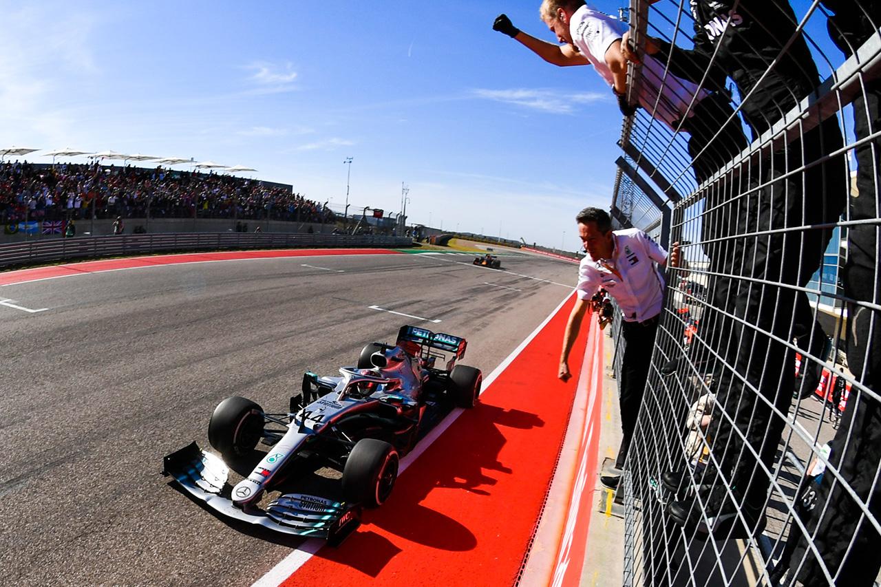 2019年 F1 アメリカGP 決勝