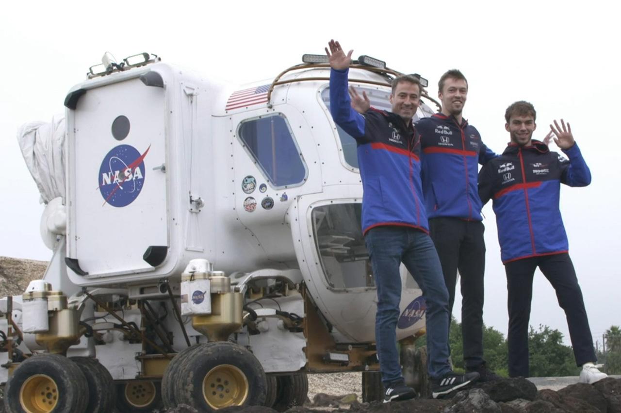 【動画】 トロロッソ・ホンダのガスリー&クビアトがNASAを訪問