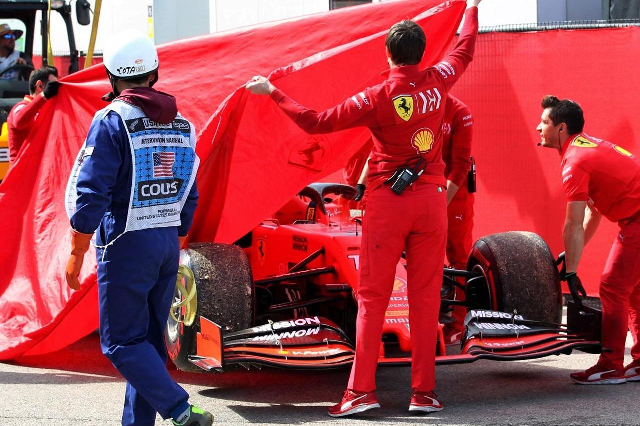 フェラーリF1 「ルクレールのスペック3エンジンが再使用可能かは不明」