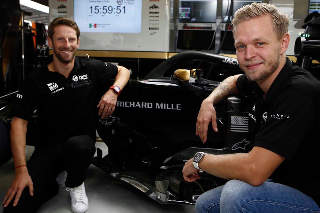 ハースF1チーム、リシャールミルとのスポンサー契約を延長