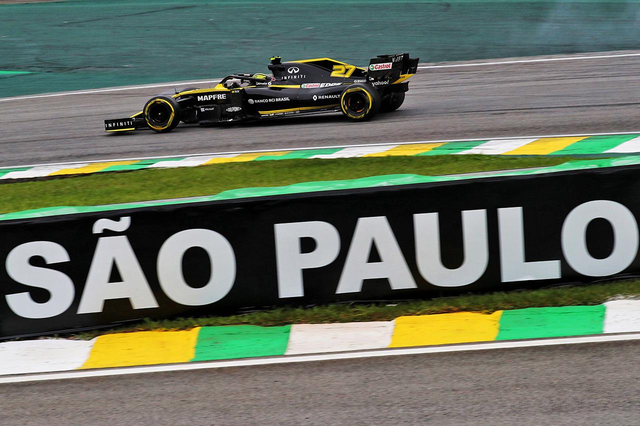 F1ブラジルGP 金曜フリー走行