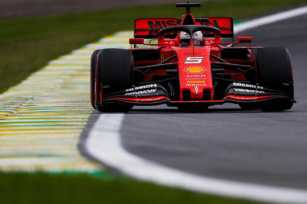 F1ブラジルGP フリー走行2回目