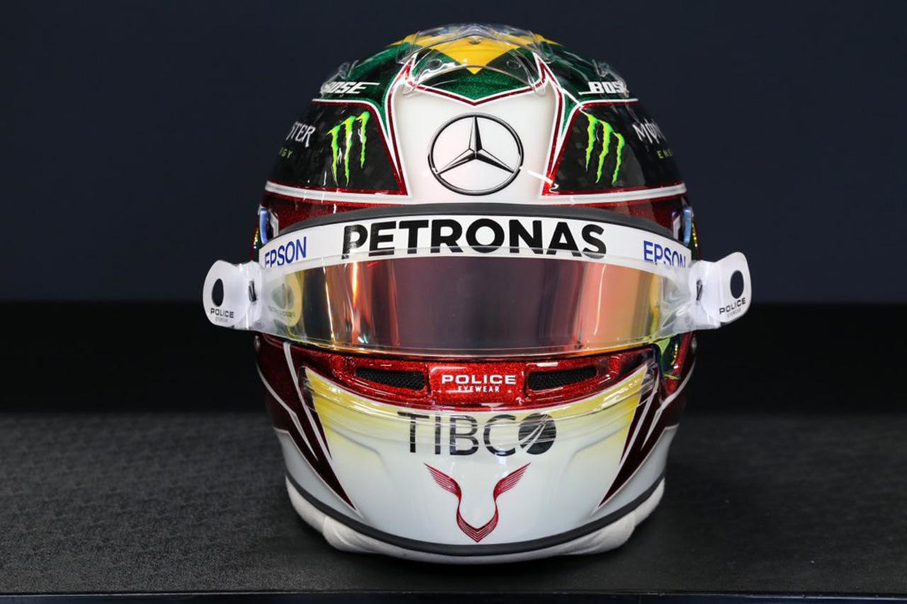 ルイス・ハミルトン 2019年 F1ブラジルGP ヘルメット