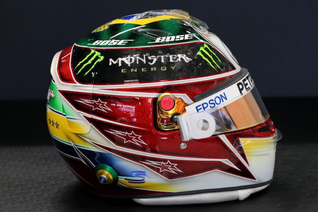ルイス・ハミルトン 2019年 F1ブラジルGP ヘルメット③