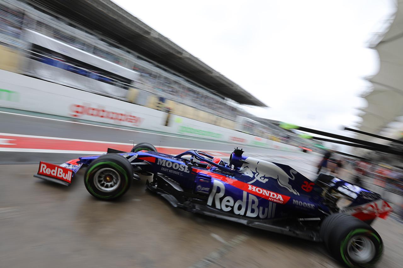 トロロッソ・ホンダ 「雨と2台に発生した問題でかなりの仕事がある」 / F1ブラジルGP初日