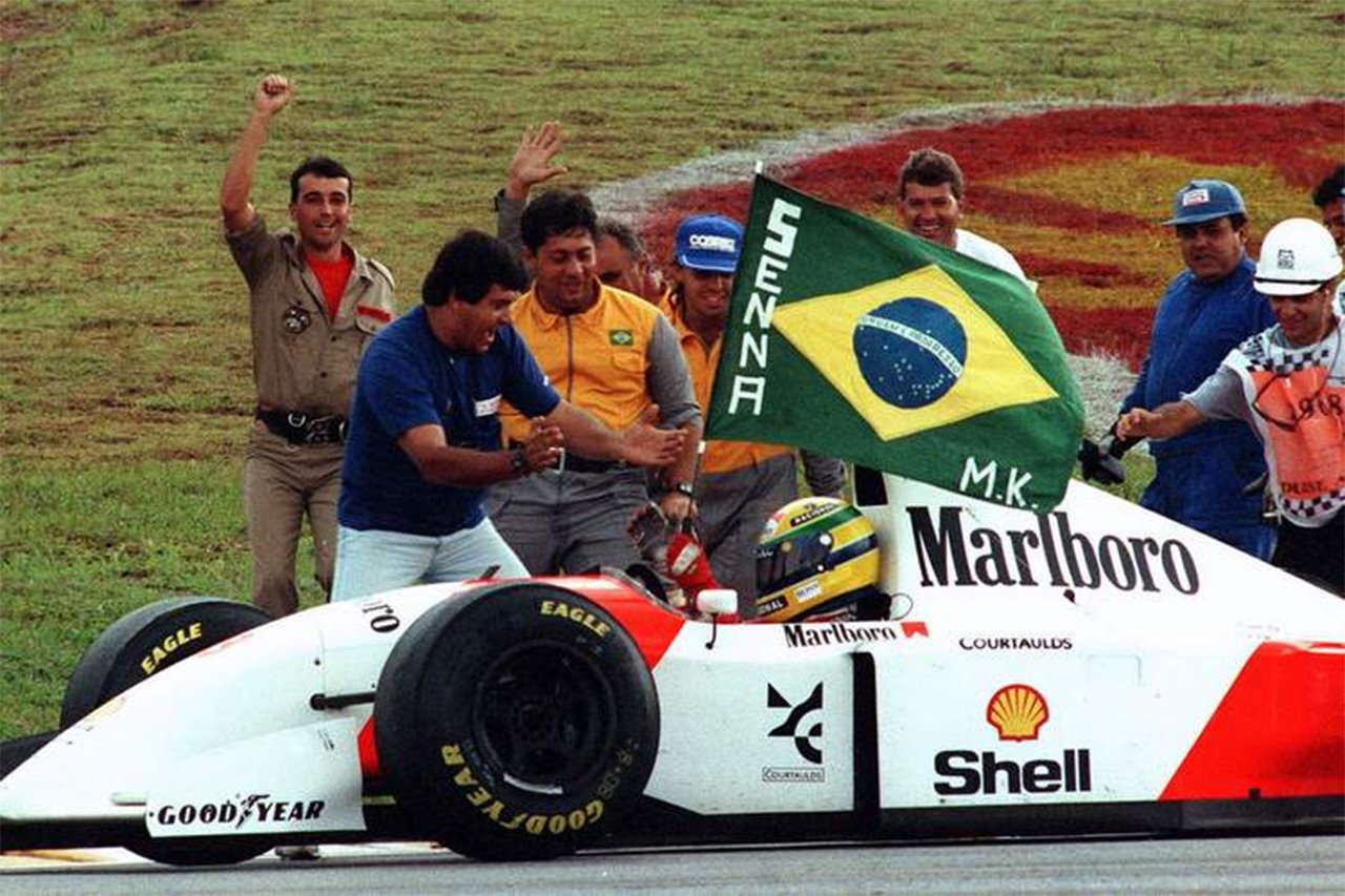 ホンダ、F1ブラジルGPでのポール獲得は1991年のアイルトン・セナ以来