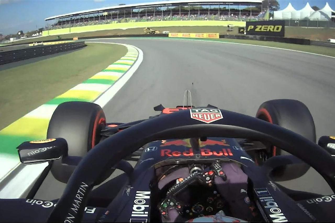 【動画】 マックス・フェルスタッペンのポールラップ / F1ブラジルGP