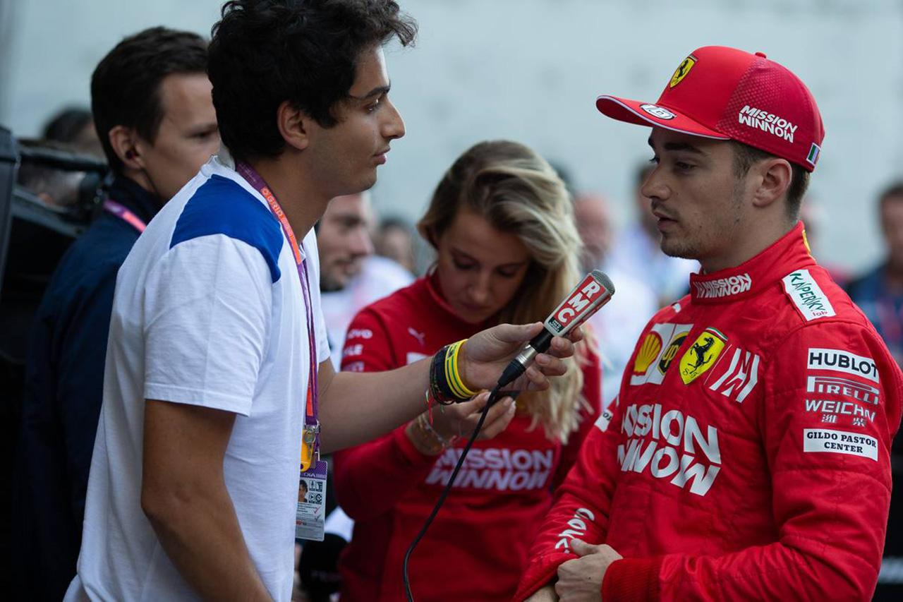 シャルル・ルクレール 「Q3での自分のラップに失望している」 / F1ブラジルGP