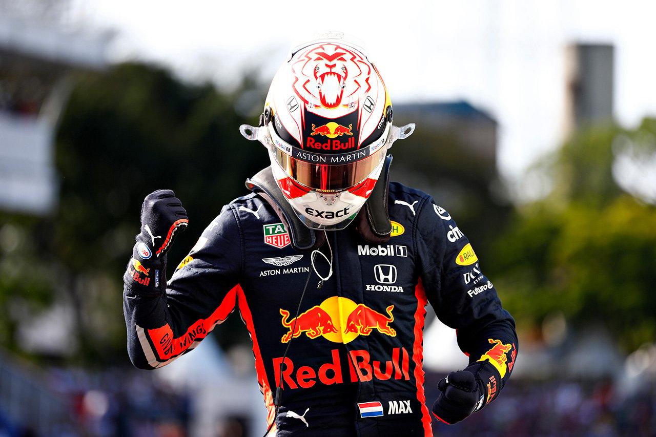 マックス・フェルスタッペン、2度目のPP獲得「クルマはとても速かった」 / レッドブル・ホンダ F1ブラジルGP予選