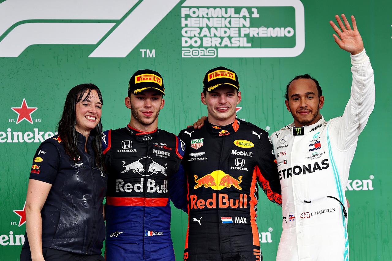 F1ブラジルGP 決勝