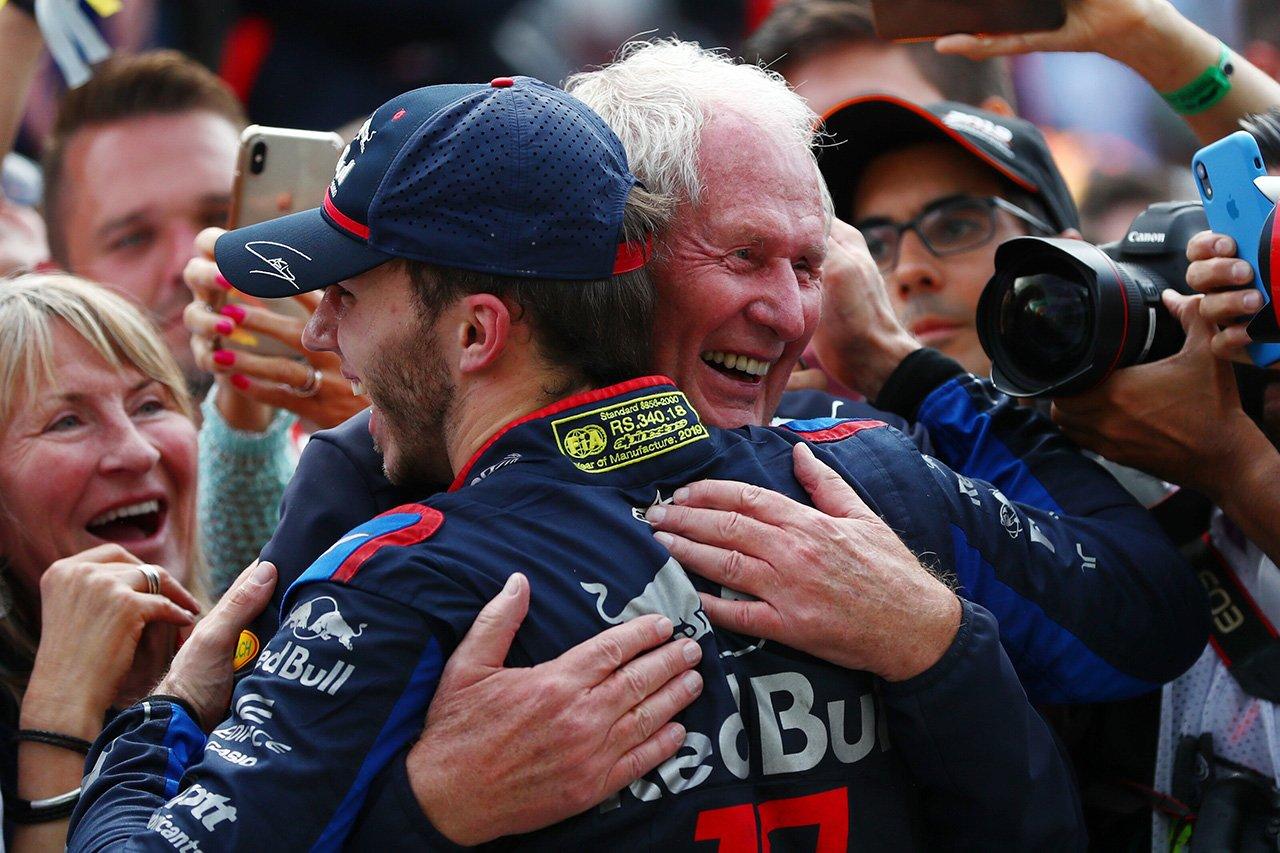 ヘルムート・マルコ 「ガスリーはF1ドライバーとしての才能を示した」