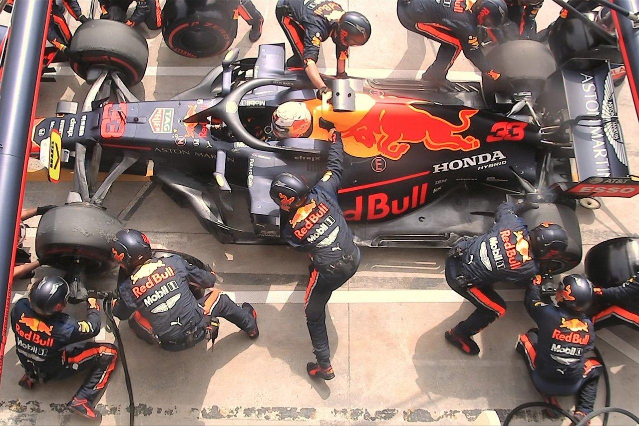 """【動画】 レッドブル・ホンダ、F1最速ピットストップ""""1.82秒""""を記録"""