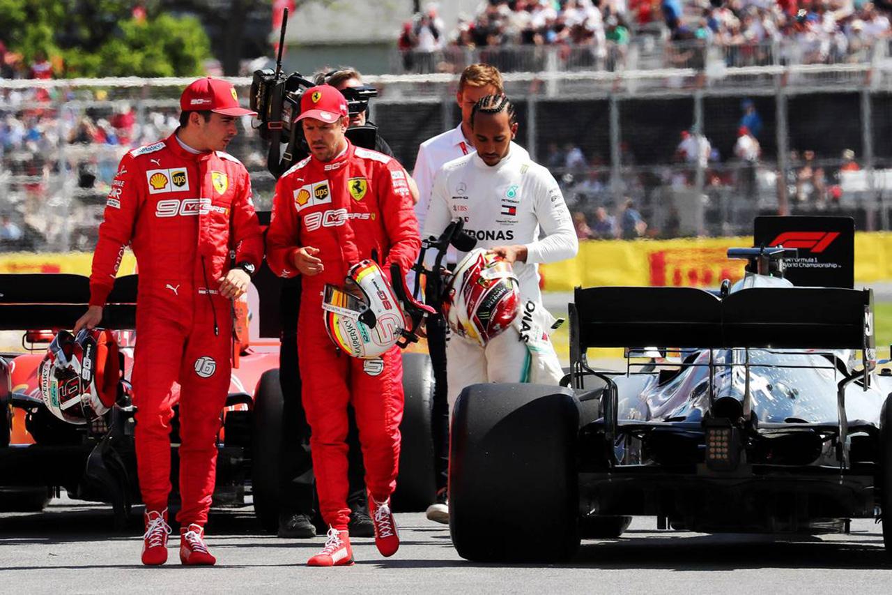 ロス・ブラウン 「同士討ちのフェラーリの二人はハミルトンを見習うべき」