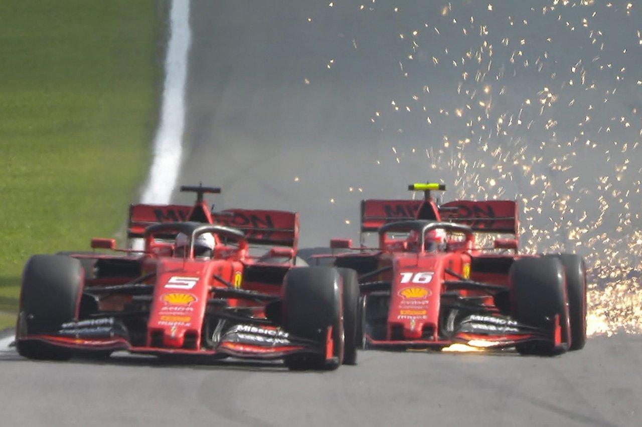 「フェラーリの同士討ちにはどちらのドライバーにも責任がある」