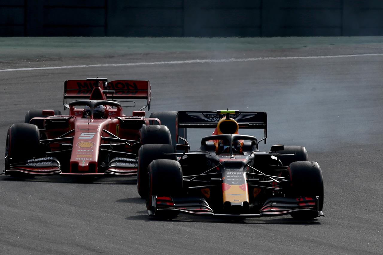 フェラーリF1 「レッドブル・ホンダに今季初めてコーナーで匹敵できた」