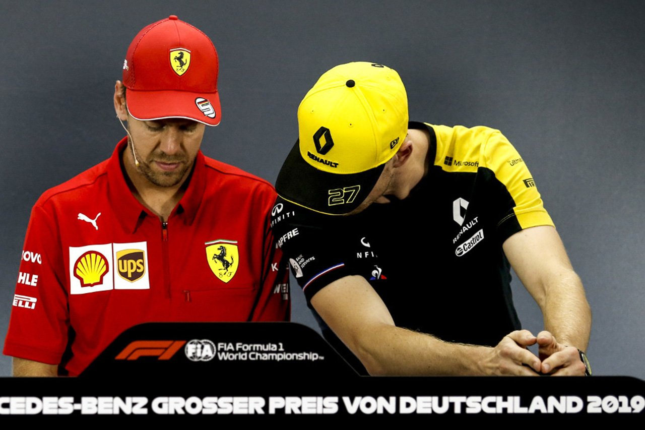セバスチャン・ベッテル 「ヒュルケンベルグがF1に戻ってくること願う」