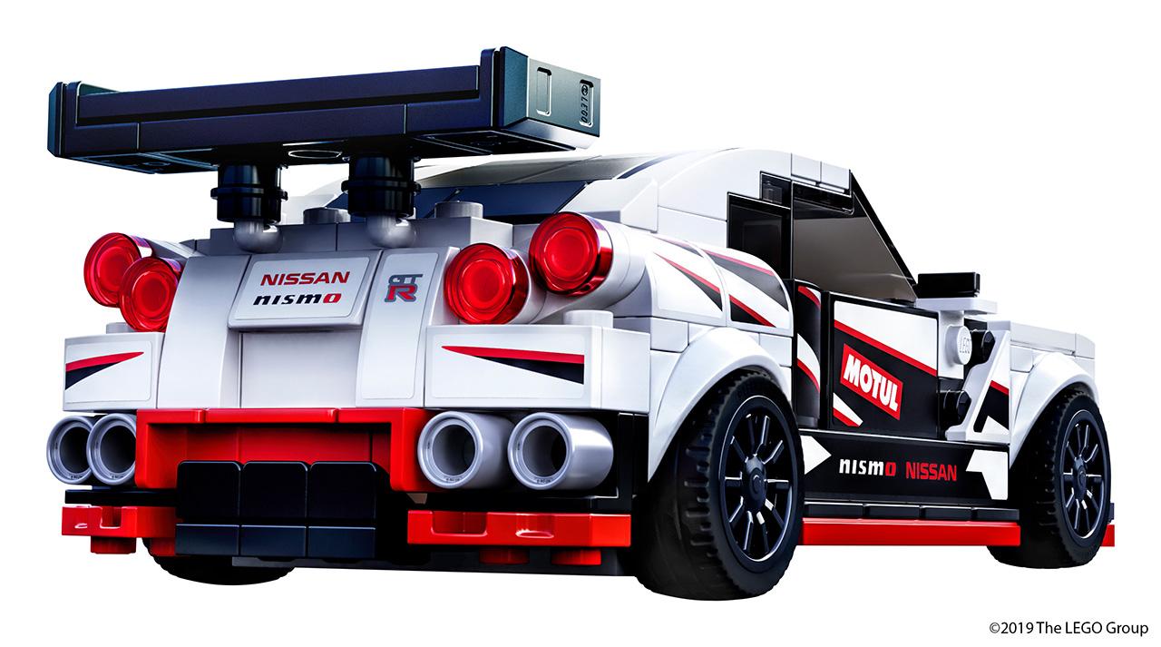 レゴ グループ、伝説の「NISSAN GT-R ニスモ」をレゴ ブロックで再現!