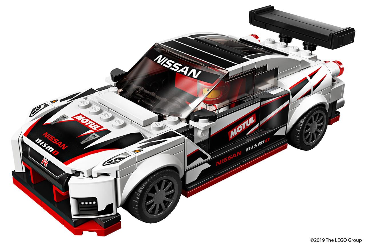 レゴ、伝説の「NISSAN GT-R ニスモ」をレゴ ブロックで再現!来年1月に発売