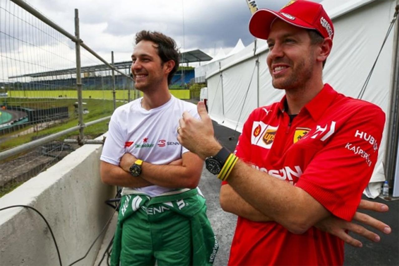 セバスチャン・ベッテル 「F1の最初のヒーローはアイルトン・セナ」