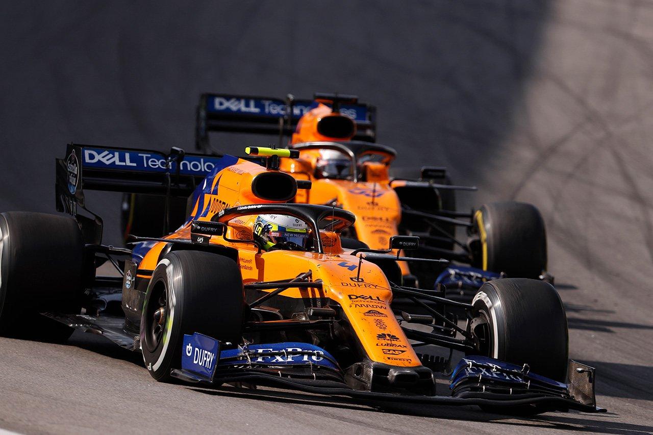 マクラーレン 「F1ブラジルGPでの表彰台はモチベーションを与えた」