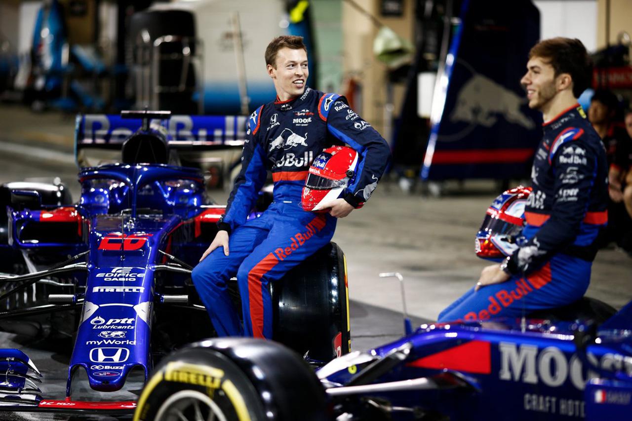 トロロッソ・ホンダ 2019年 F1チーム集合写真