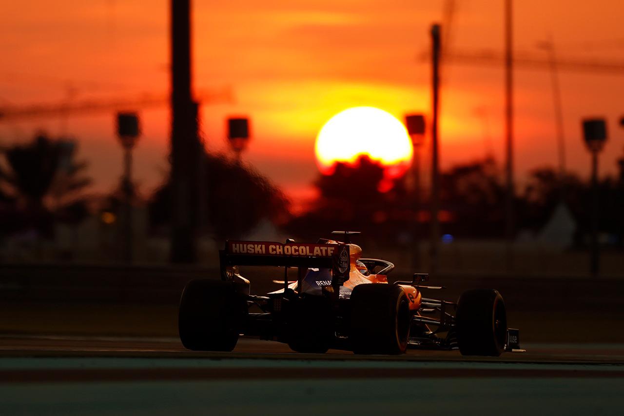 F1アブダビGP 金曜フリー走行