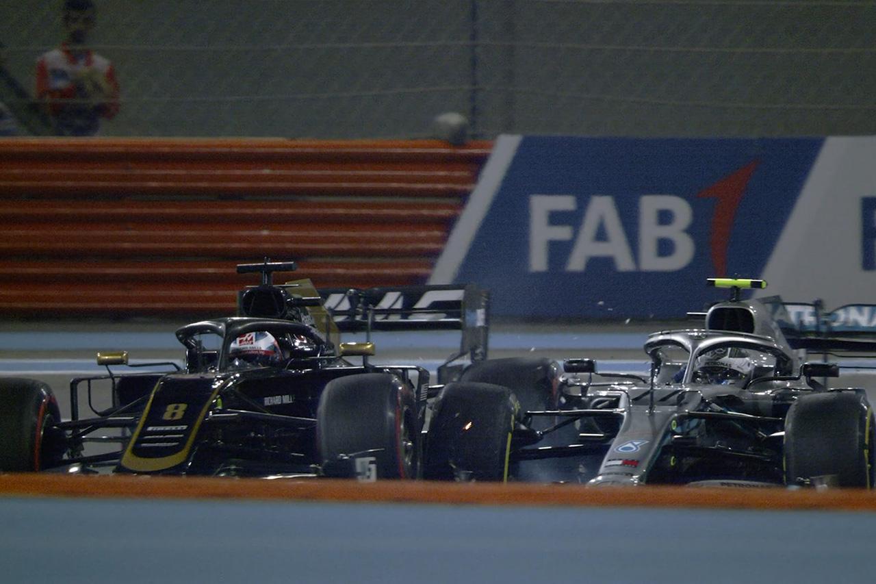 ロマン・グロージャン 「ボッタスとの接触で唯一のアップデートを失った」 / F1アブダビGP 初日