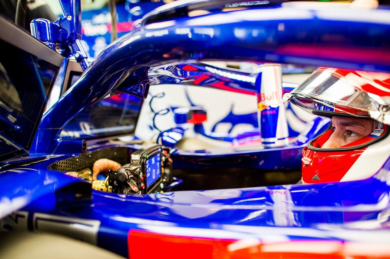 ダニール・クビアト 「マシンの手ごたえはいいので改善を続けていく」 / トロロッソ・ホンダ F1アブダビGP 初日