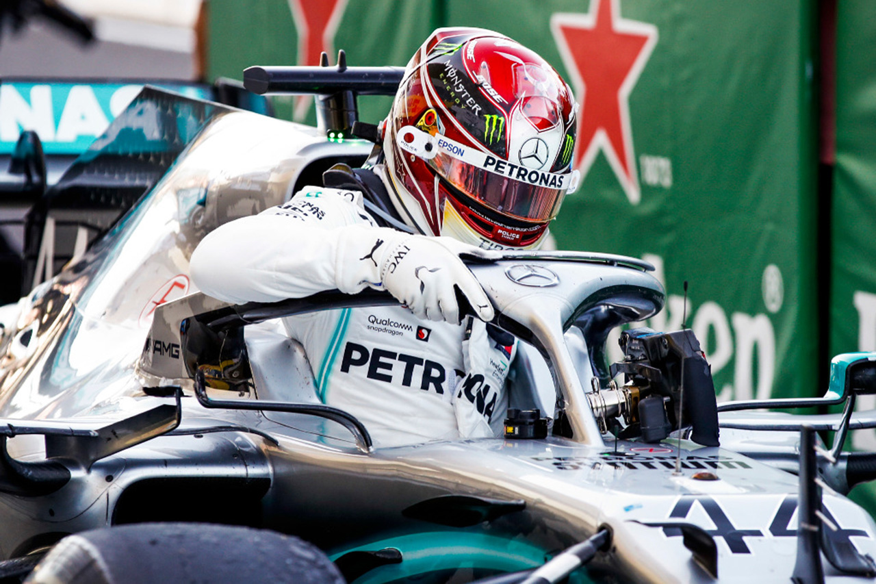 ルイス・ハミルトン 「あえて機能しなかったものを試している」 / メルセデス F1アブダビGP 初日