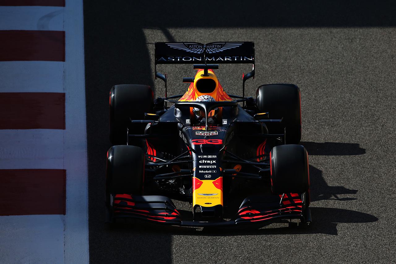 マックス・フェルスタッペン、2020年向けのフロントウイングをテスト / レッドブル・ホンダ F1アブダビGP 初日