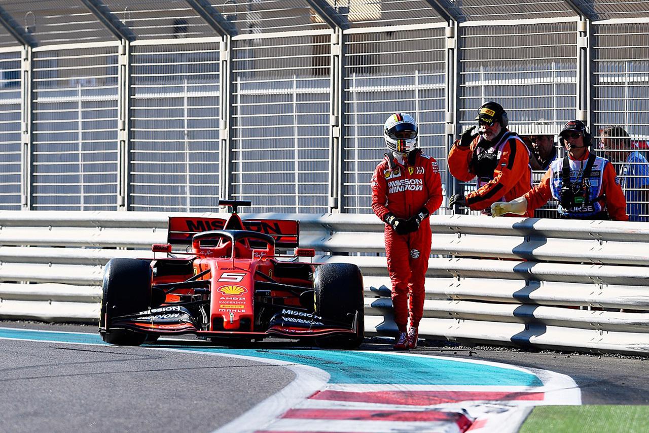 セバスチャン・ベッテル 「中低速コーナーでライバルに劣っている」 / フェラーリ F1アブダビGP