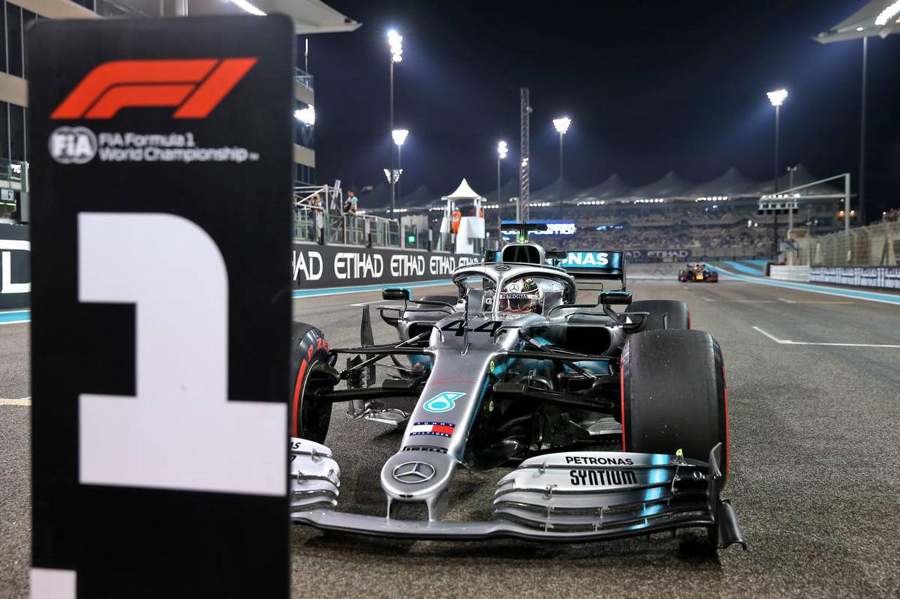 2019年 F1アブダビGP 決勝
