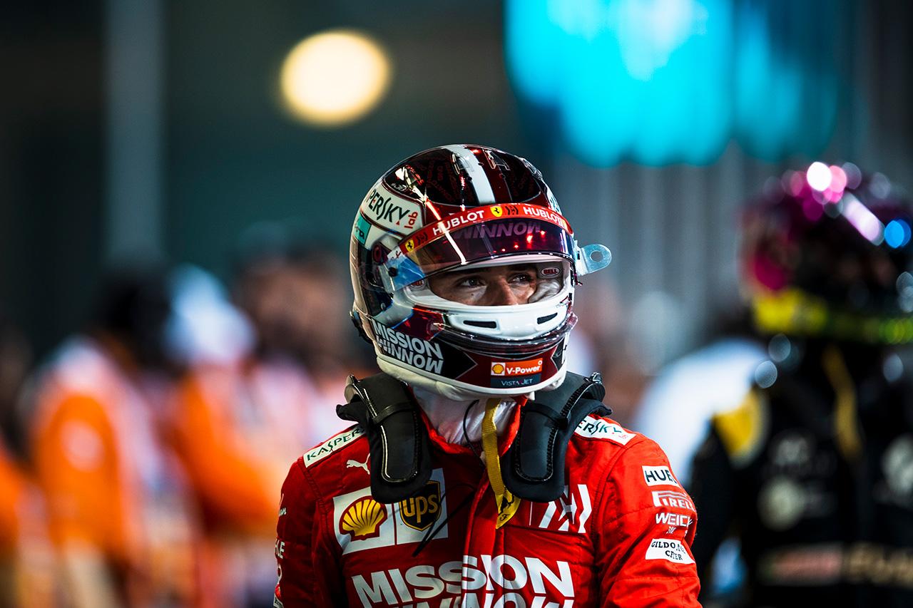 シャルル・ルクレール 「最後にアタックできなかったのは残念」 / フェラーリ F1アブダビGP 予選