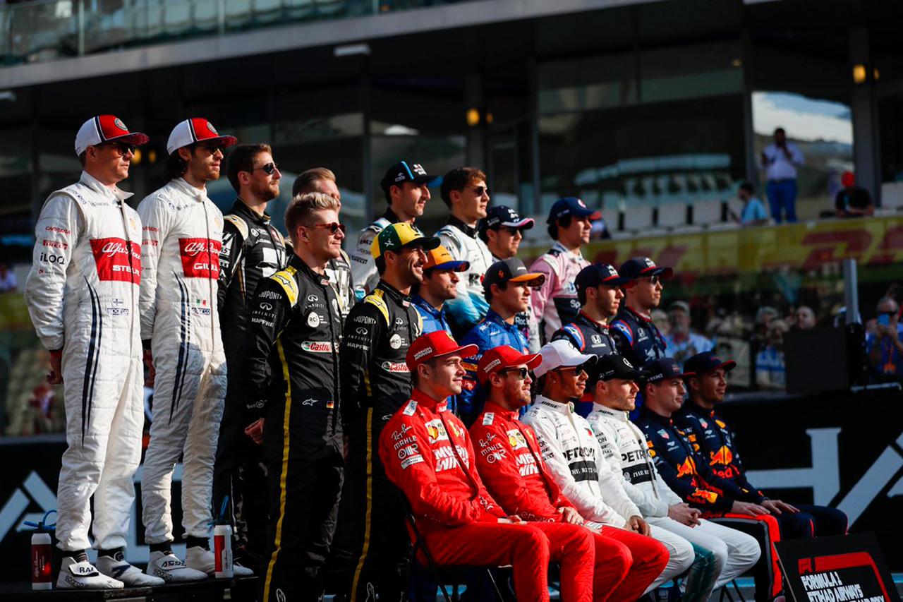 F1アブダビGP 決勝