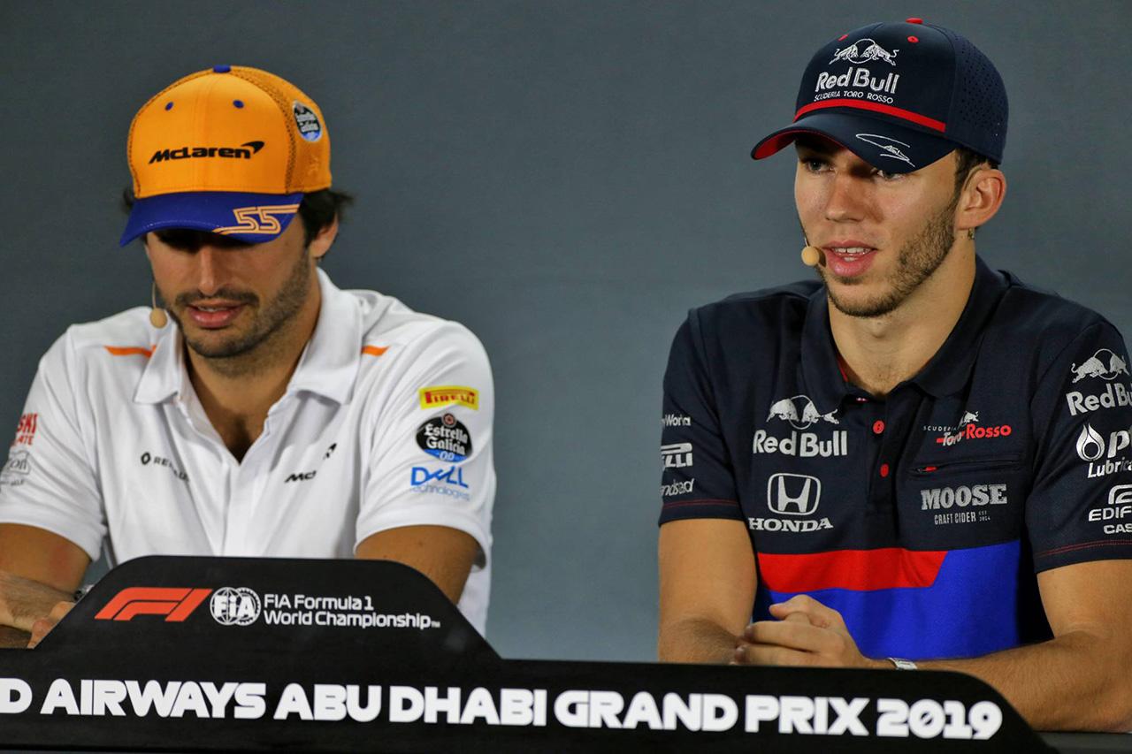 カルロス・サインツ、ピエール・ガスリーのタイヤアドバインテージを心配