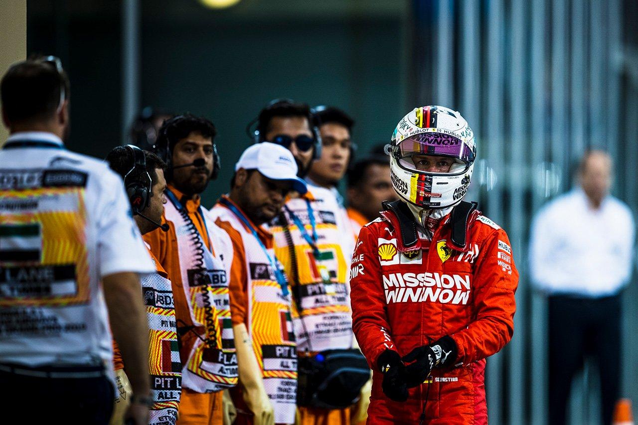 セバスチャン・ベッテル 「他と異なるソフトで活路を見い出したい」 / フェラーリ F1アブダビGP 予選