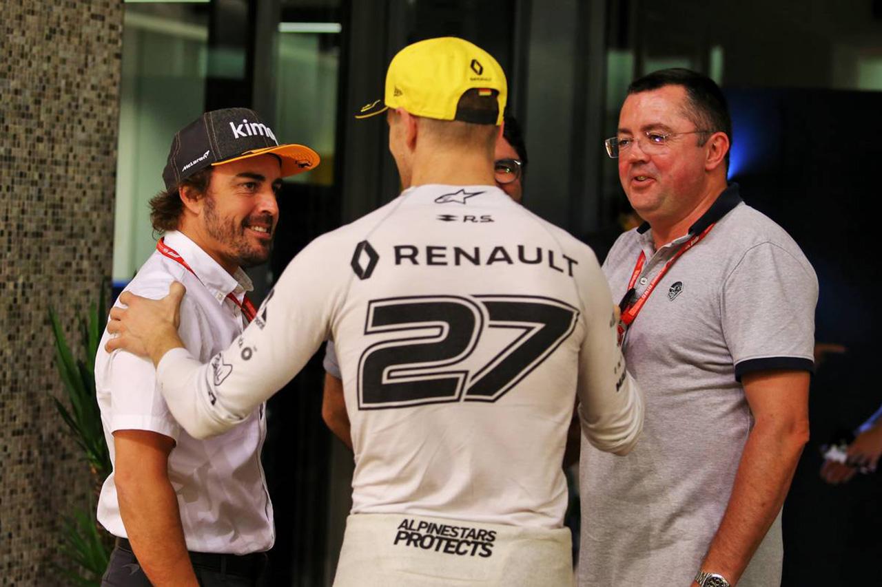 ルイス・ハミルトン 「フェルナンド・アロンソがF1に復帰するなら歓迎」