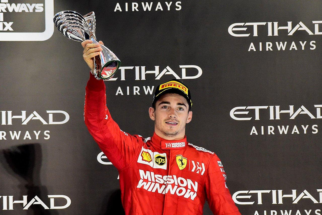 シャルル・ルクレール 「想像もできないようなフェラーリでの初シーズン」 / F1アブダビGP