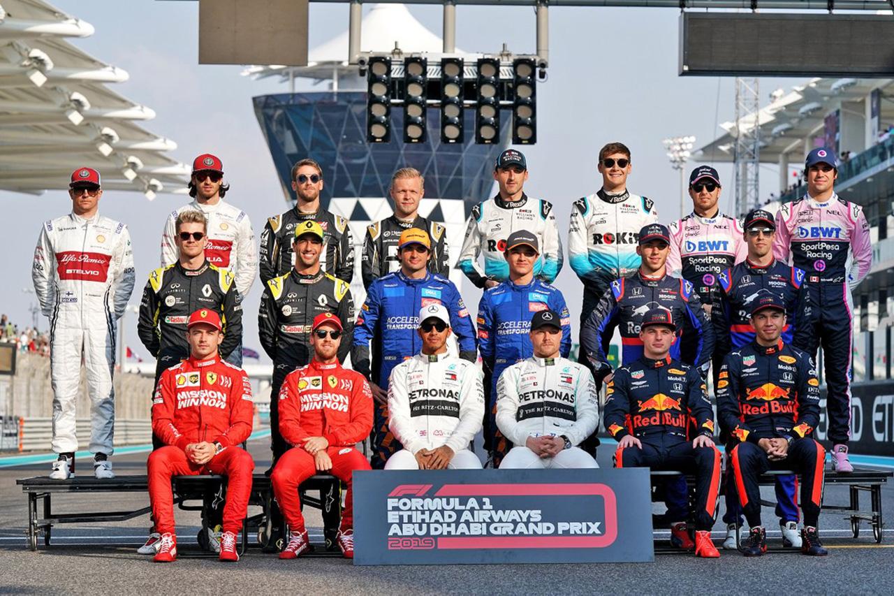 2019年 F1ポイントランキング