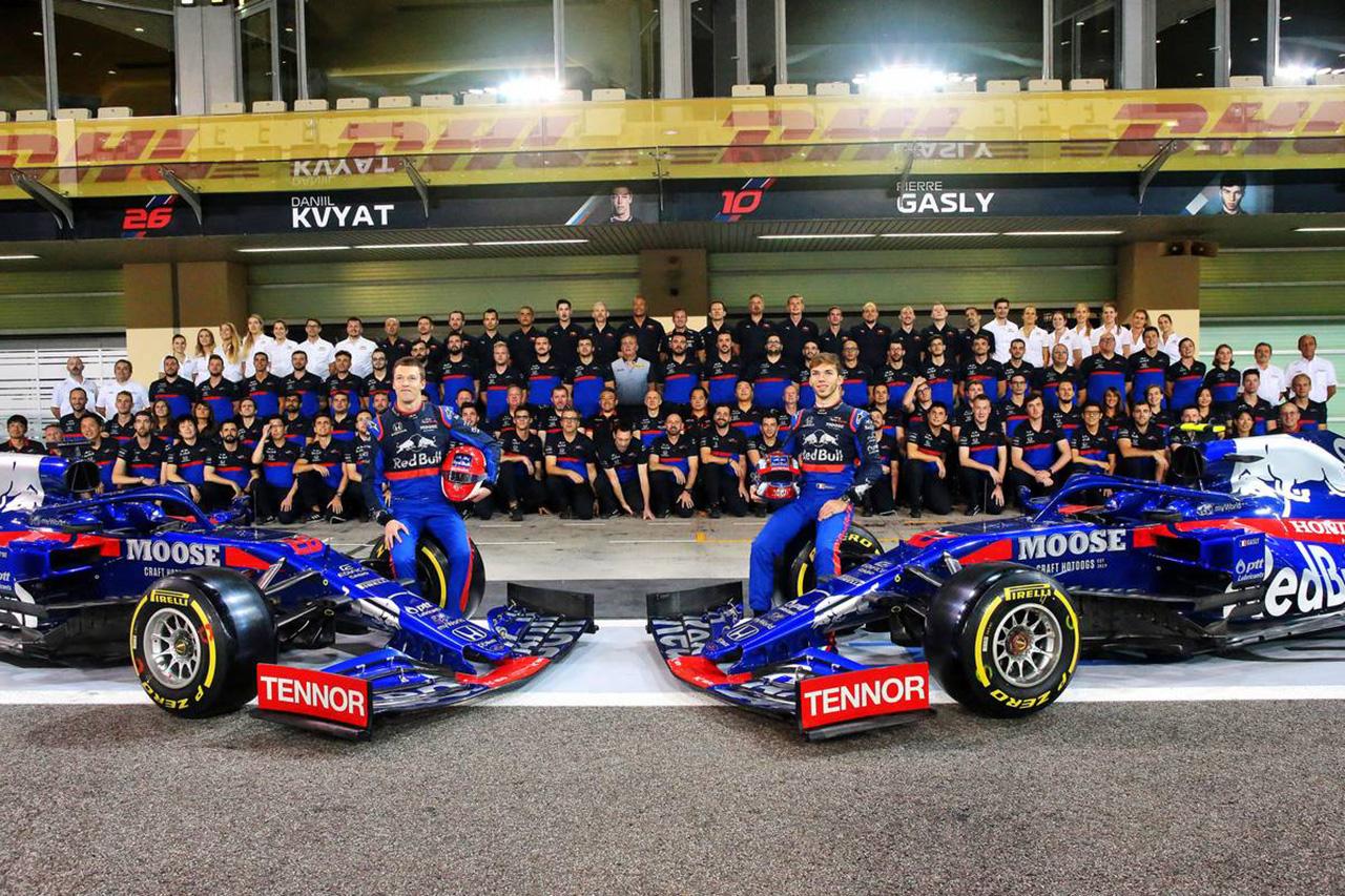 トロロッソF1代表 「最も成功を収めたシーズン。ホンダF1に心から感謝」 / F1アブダビGP