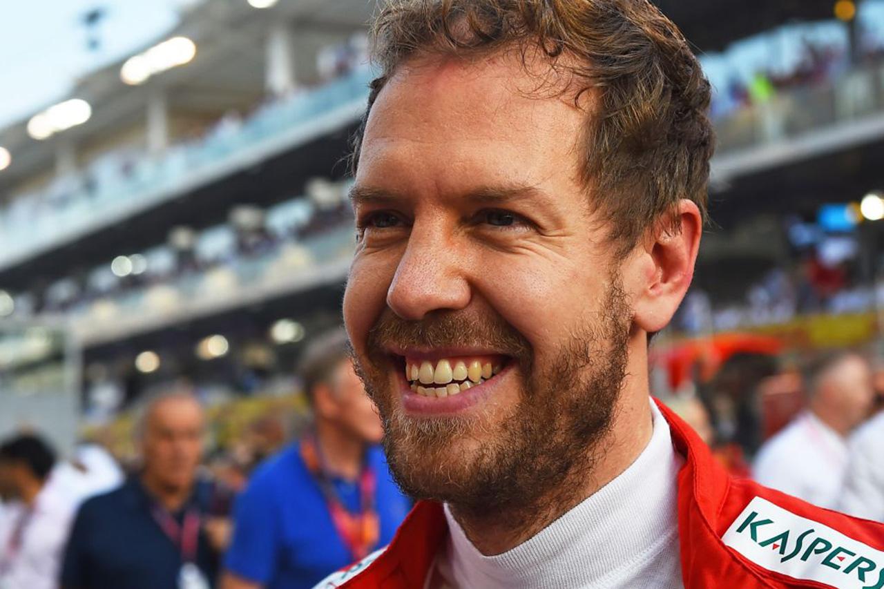 セバスチャン・ベッテル、F1引退の噂を流したメディアからの質問に皮肉